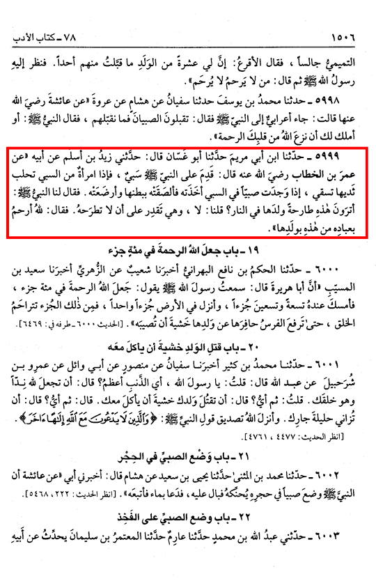 Sahih Bukhari, Kitabul Adab.png